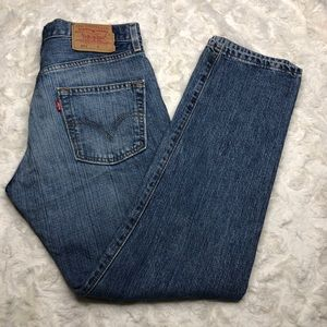 Vintage Levi's 501 Button Fly Straight Mom Jeans